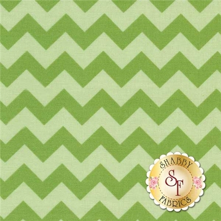Chevron 400-31 Green by Riley Blake Designs