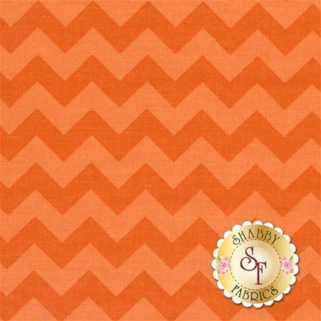Chevron 400-61 Orange by Riley Blake Designs