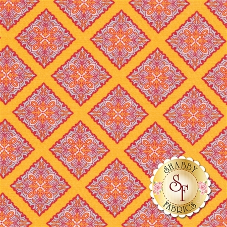 Primavera 5742-TANGERINE by Patty Young for Riley Blake Designs