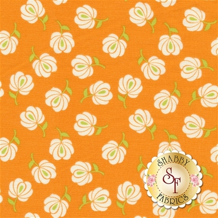 Primavera 5745-TANGERINE by Patty Young for Riley Blake Designs