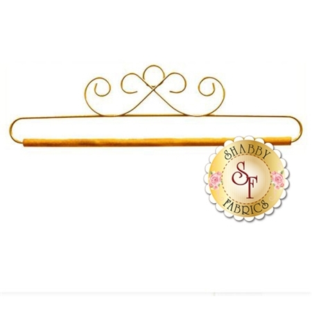 Craft Holder - French Curl in Gold - 12""