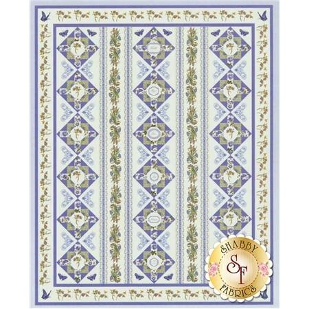 Botanical Blues Quilt Kit