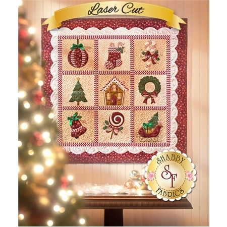 Christmas Keepsakes 2015 - Pre-fused & Laser-Cut Kit