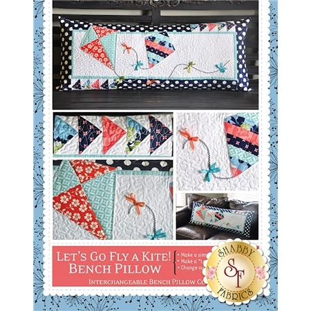Let's Go Fly A Kite! Kimberbell Bench Pillow Pattern