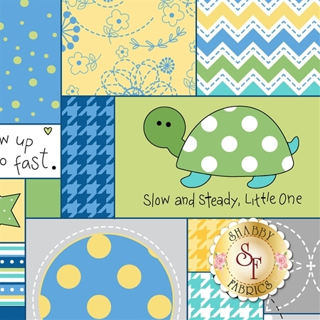 Little One Flannel Too F8221-ZB by Kim Christopherson for Maywood Studio