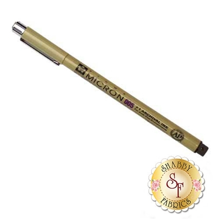 Micron 005 Pen - Brown
