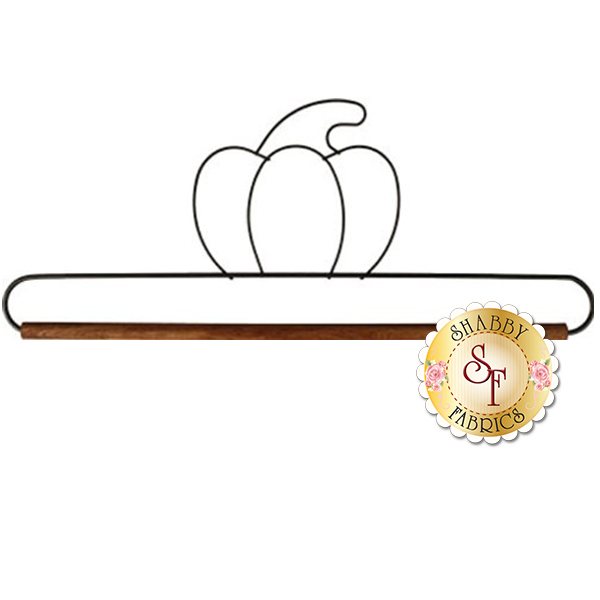 "Craft Holder - 12"" Pumpkin with Dowel"