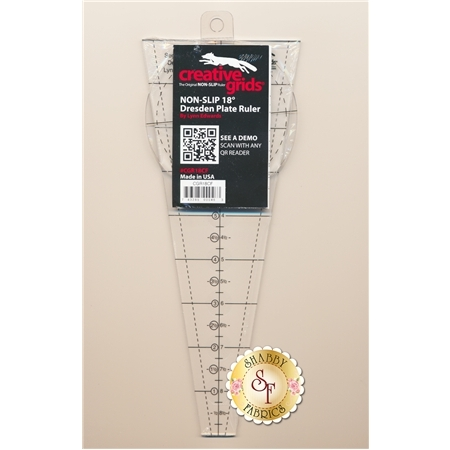 Creative Grids 18 Degree Dresden Plate Ruler  #CGR18CF