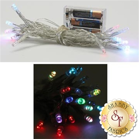 Battery Operated Twinkle Lights - Multicolor