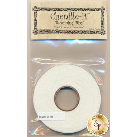 "Chenille-It White - 3/8"""