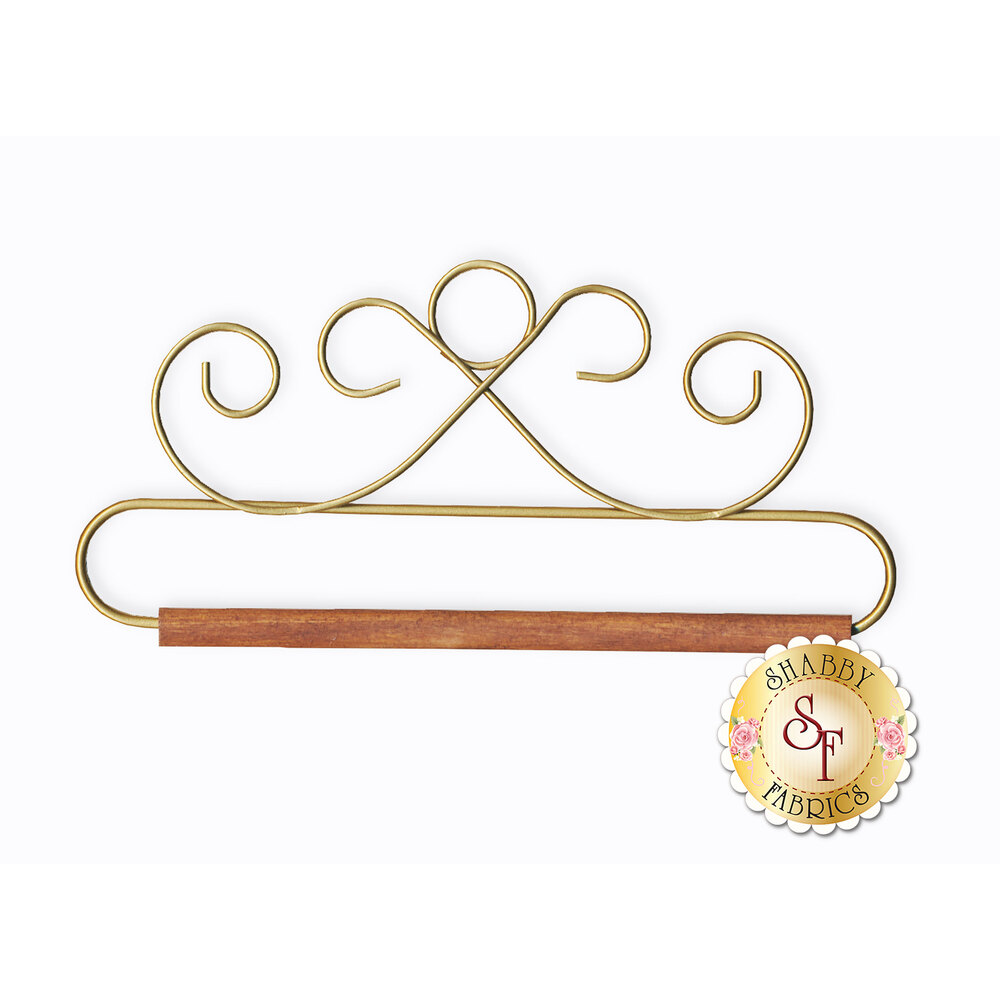 Craft Holder - French Curl in Gold - 6.5""