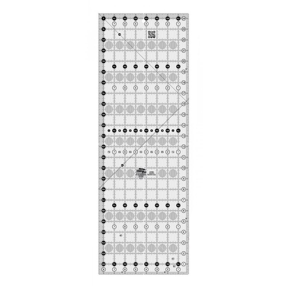 "Creative Grids - 8½"" x 24½"" Ruler | Shabby Fabrics"