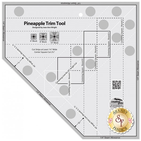 Creative Grids Pineapple Trim Tool #CGRJAW3