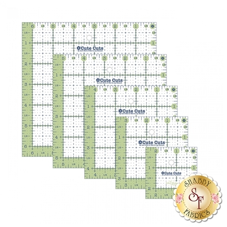 Cute Cuts Square Ruler Pack