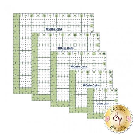 Cute Cuts Square Ruler Pack