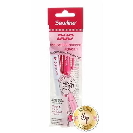 Sewline Duo Fine Fabric Marker + Eraser