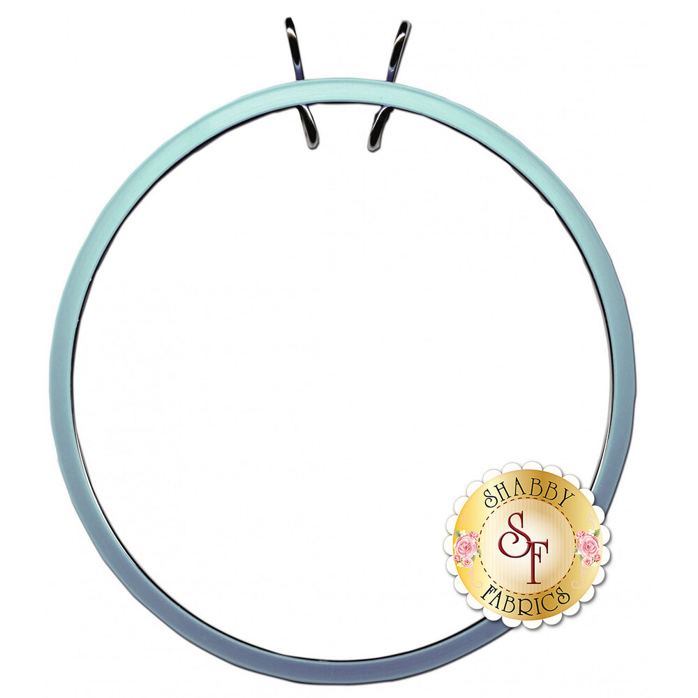 Spring Tension Embroidery Hoop - 7in - Blue | Shabby Fabrics