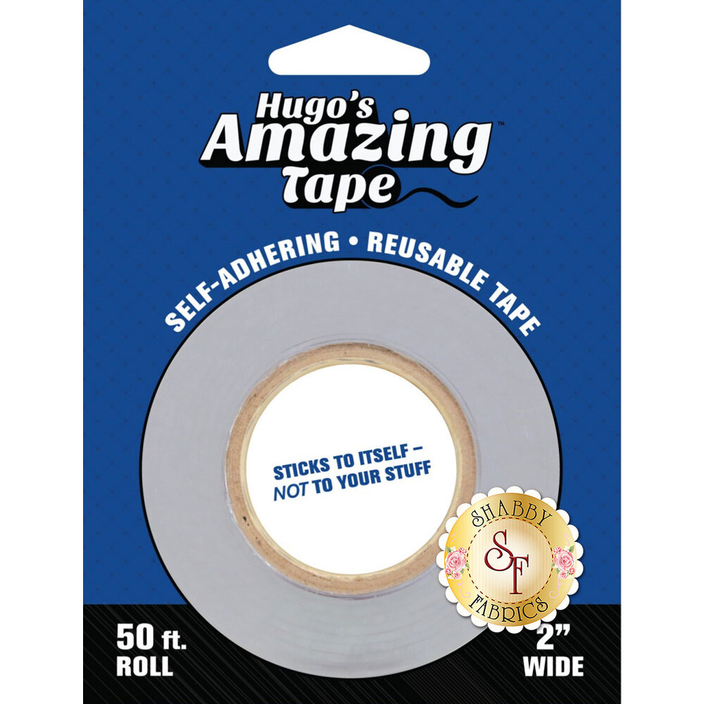 A roll of the 2 inch x 50ft Hugo's Amazing Tape | Shabby Fabrics