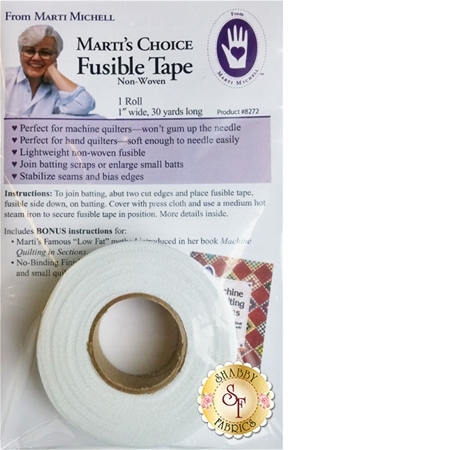 Marti's Choice Fusible Tape - 1 inch x 30 yards