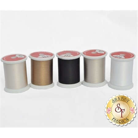 Neutrals - 5pc Silk Thread Set
