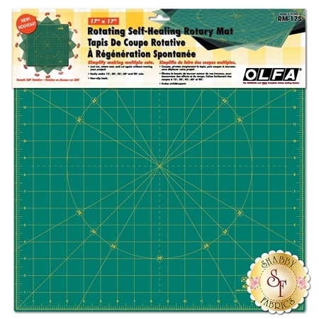 Olfa Spinning Rotary Mat 17'' x 17''