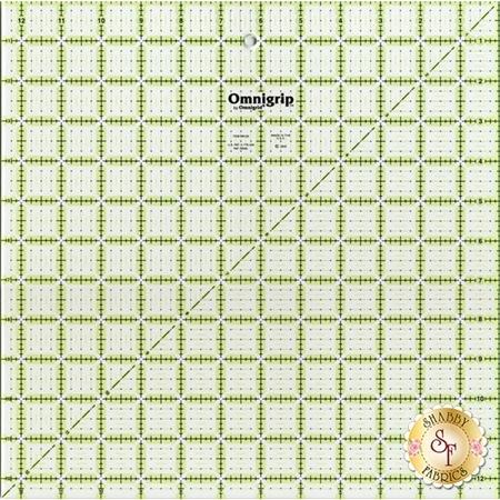"""Omnigrip Ruler - 12½"""" Square #OMNRN125"""