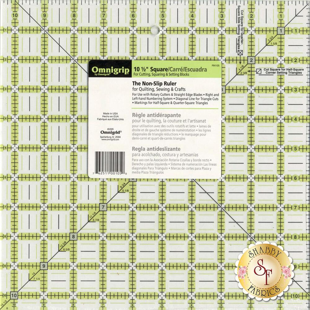 """Omnigrip Ruler - 10½"""" Square #RN105"""