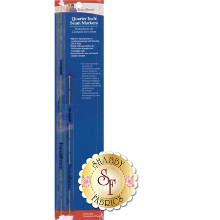 Quarter Inch Seam Markers - Fons & Porter