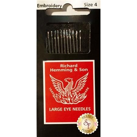 Richard Hemming Embroidery Needles Size 4
