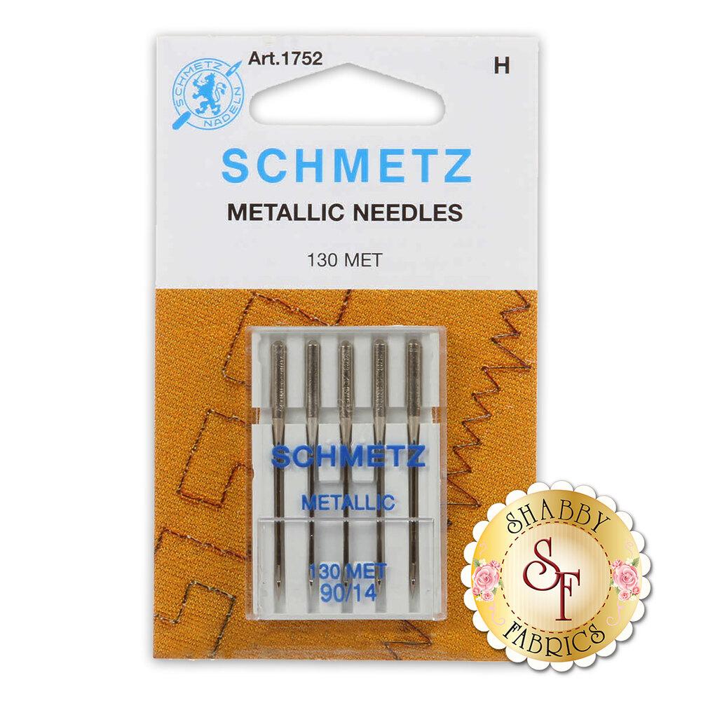 Schmetz Metallic Needles - Size 90/14 5ct