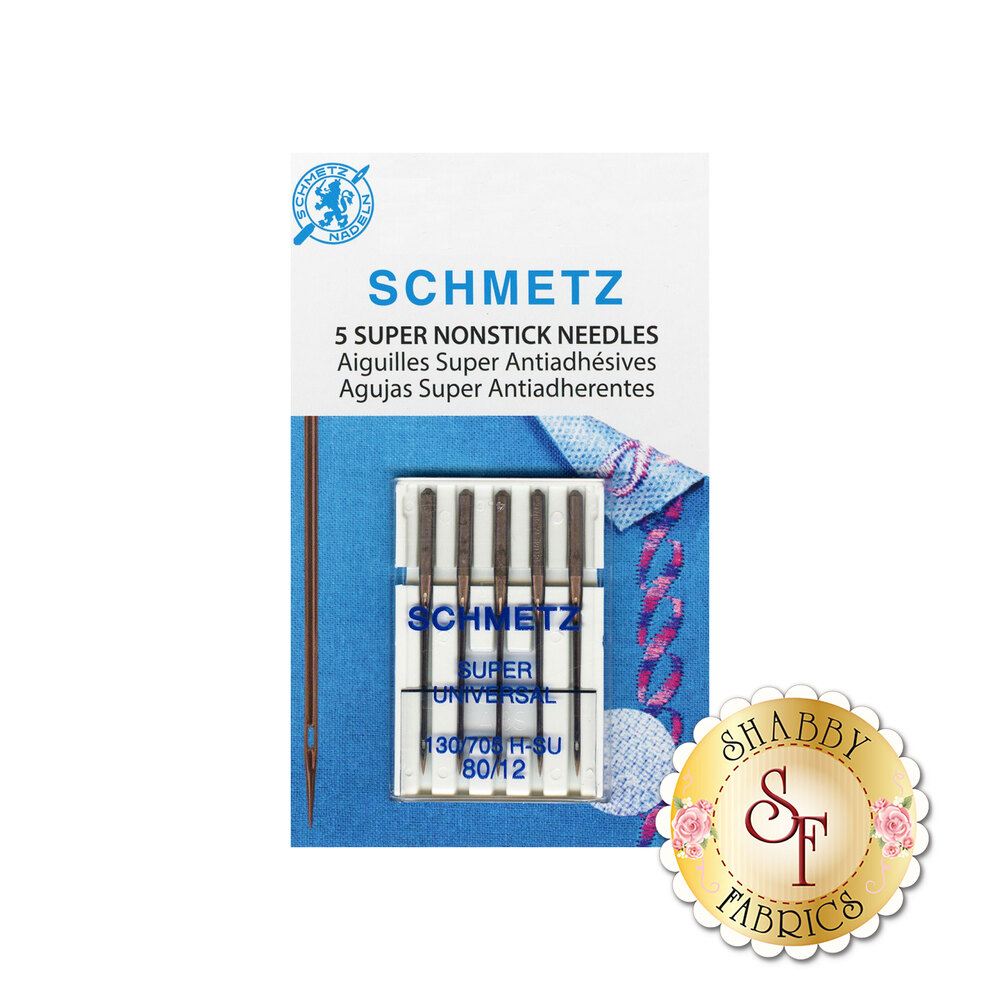 Schmetz Super Nonstick Needles - Size 80/12 5ct
