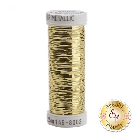 Sulky Sliver Metallic #8003 Light Gold 40wt 250 yd Thread