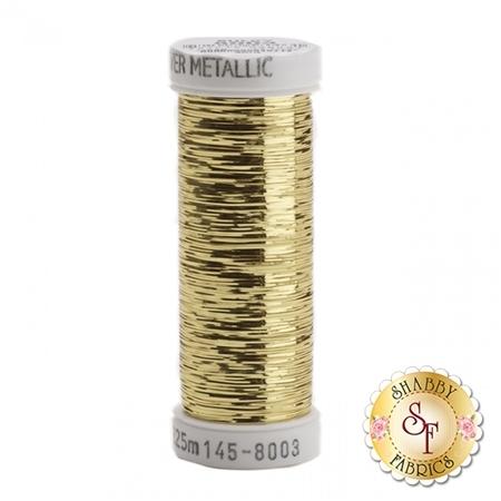 Sulky Sliver Metallic #8003 Light Gold 40wt 250 yd Thread