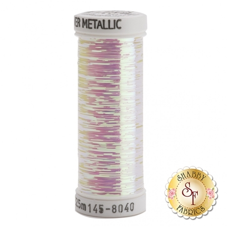 Sulky Of America Sliver Metallic Opal #8040 40wt 250 yd Thread