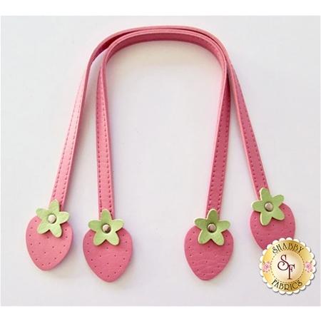 Sweet Fruit Handles - Pink Strawberries