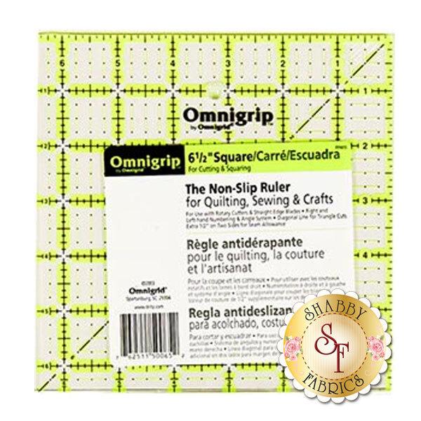 """Omnigrip Ruler - 6½"""" Square"""