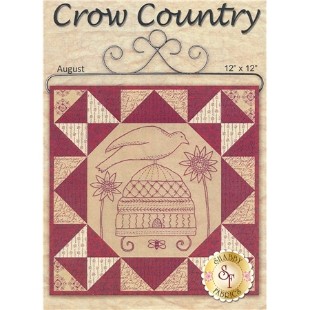 Stitched in Red - Crow Country Kit