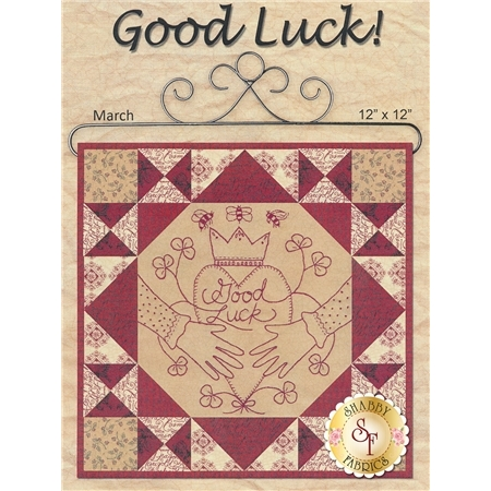 Stitched in Red - Good Luck Kit