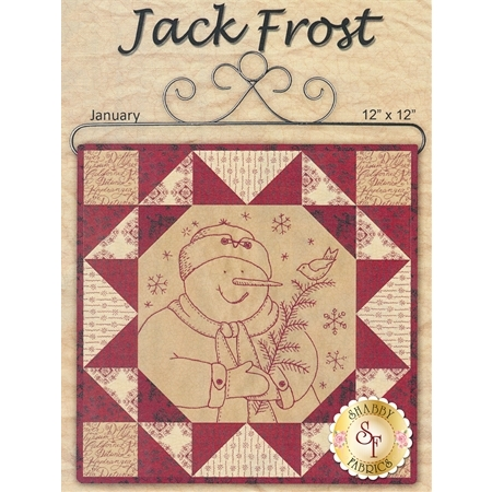 Stitched in Red - Jack Frost Pattern