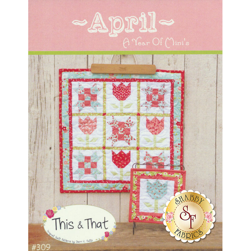 A Year Of Mini's Pattern - April now available