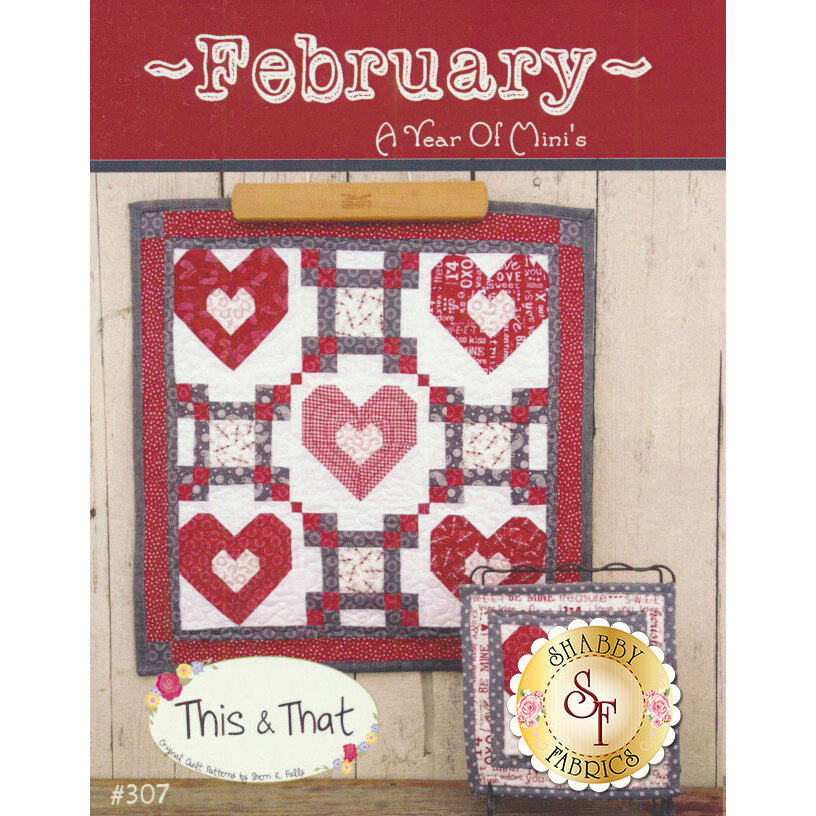 A Year Of Mini's Pattern - February now available