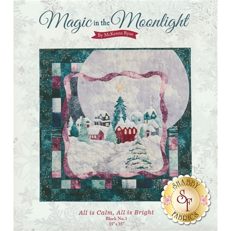 Magic In The Moonlight - All Is Calm, All Is Bright Pattern
