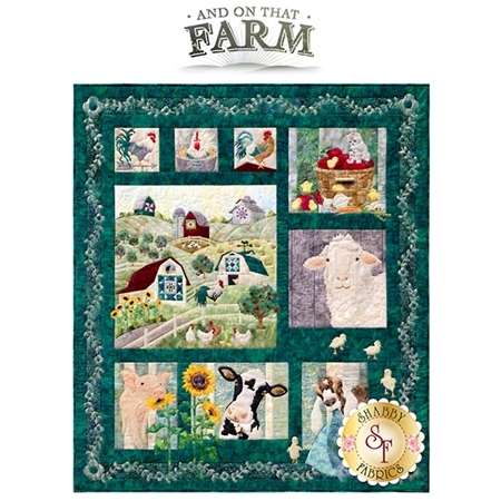 And on That Farm - Set of 8 Patterns