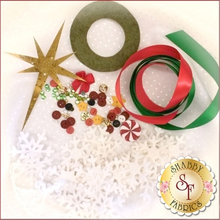 Blessings of Christmas Embellishing Kit