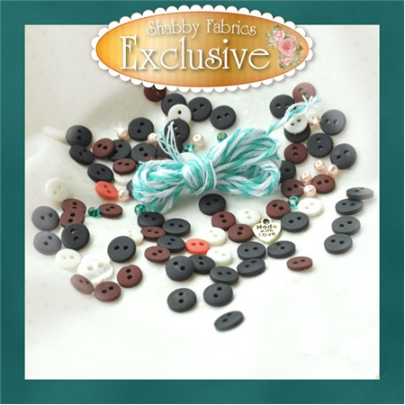 Blessings of Winter Embellishing Kit