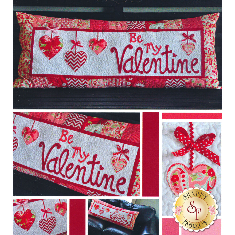 Be My Valentine - Kimberbell Bench Pillow Pattern