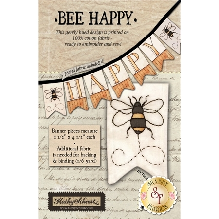 Bee Happy Pattern