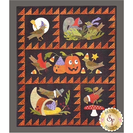 Bertie's Autumn - Set of 4 Patterns