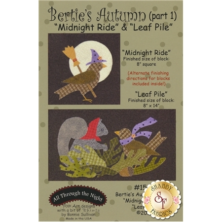 Bertie's Autumn - Part 1 - Midnight Ride & Leaf Pile Pattern