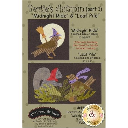 Bertie's Autumn - Part 1 - Midnight Ride & Leaf Pile Pattern